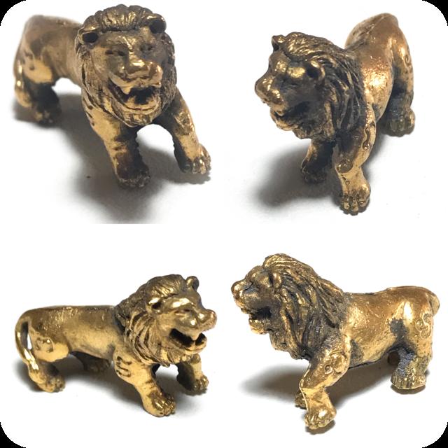 สิงโตมหาลาภ พระอาจารย์บัว ปี 19 วัดหลักศิลามงคล