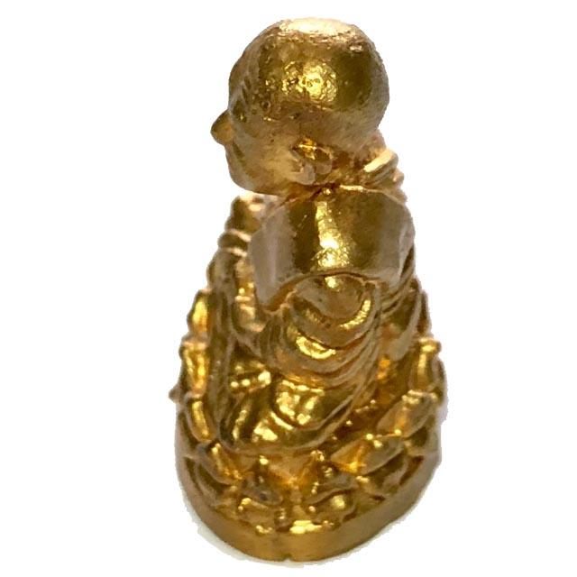 หลวงพ่อทวด วัดช้างให้ เนื้อกะไหล่ทอง ปี 57