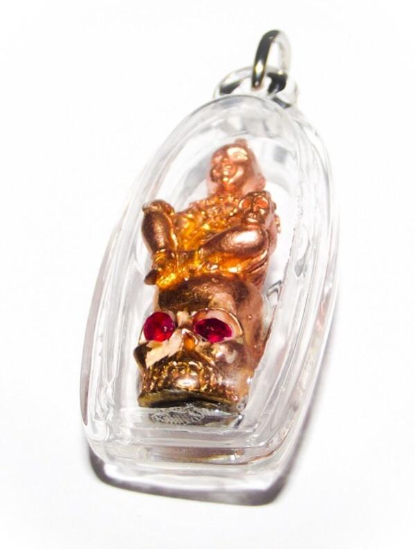 กุมารทองเจ้าสัมฤทธิ์ เนื้อทองแดง พระอาจารยบ์ศุภสิทธิ์ วัดบางน้ำชน กรุงเทพฯ ปี 56