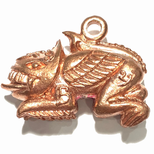เพชรพญาธร(ติ๊บพญาธร) พระอาจารศุภาสิทธิ์ วัดบางน้ำชน กรุงเทพฯ เนื้อทองแดง