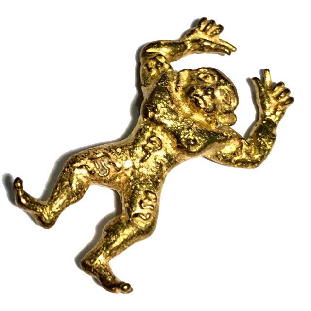 ดำดื้อ-แดงเกเร หลวงพ่อญา วัดบางพระ เนื้อทองเหลือง