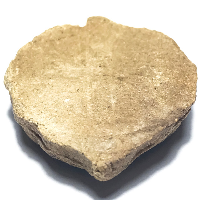 พระพิมพ์ใบโพธิ์ เนื้อเกสร หลวงพ่อลี วัดอโศการาม ปี 2500 เนื้อเกสร