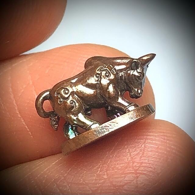 วัวธนูมหาลาภ(โคอุสุภราช) รุ่นมหาโชค รับทรัพย์ หลวงพ่อหวั่น วัดคลองคูณ